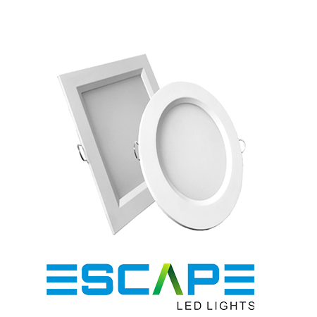 LED PANEL LIGHTS (ROUND AND SQUARE)